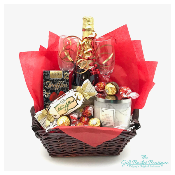 Champagne Celebration Basket Calgary