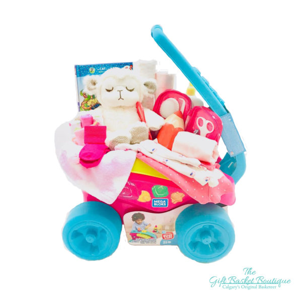 Baby Wagon Wheels Gift Basket Calgary