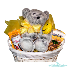 Teddy Bear Wishes Gift Basket Calgary