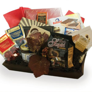 chocolate classic gift basket