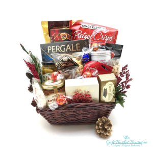Holiday Plenty to Share Gift Basket Calgary