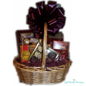 sweet and sassy chocolate gift basket calgary image