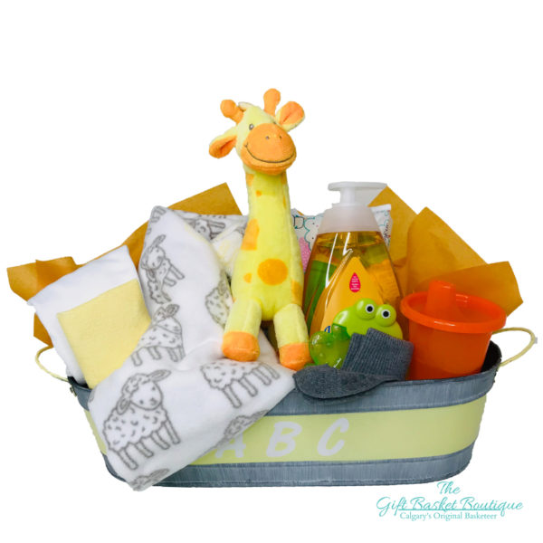 ABC baby gift basket