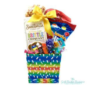 Birthday Box Gift Basket