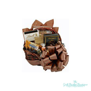 Chocolate Greetings Gift Basket Calgary
