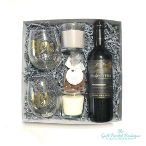 His and Hers Romantic Gift Basket