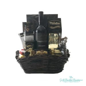 wine gifts basket Calgary