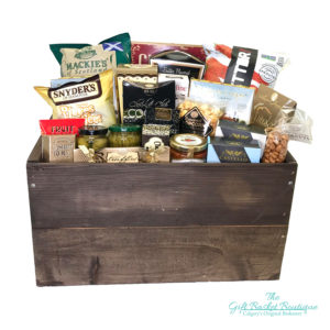 Be Crateful Gift Basket Calgary