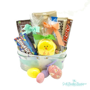 Bunny Snacks Gift Basket