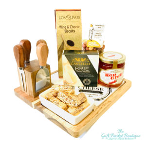 Chateau Cheese Board Gift Basket Calgary