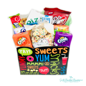 Retro Sweets Gift Basket Calgary