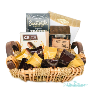 Chocolate and Toffee Gift Basket Calgary