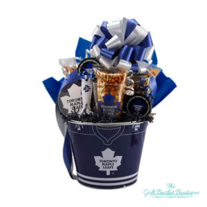 Toronto maple leafs gift basket