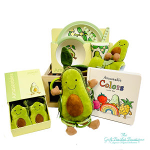 avocado baby gift basket